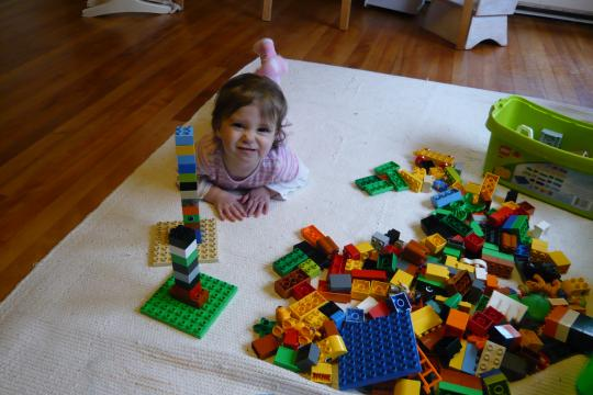 Playing with Duplos